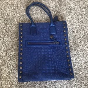 Kenneth Cole Studded Leather Tote